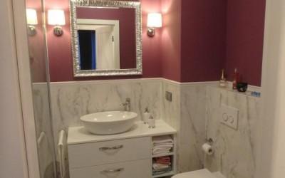 realizacja zabudowy łazienki